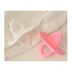 KIOKIDS - Mordedor bifásico en rosa y blanco