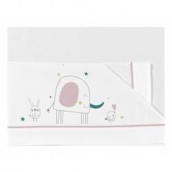 PIRULOS - Sábanas de algodón Elefante