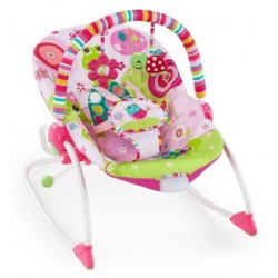 BRIGHT STARTS - Hamaca Rocker Rasberry